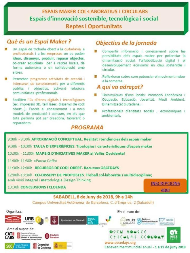 programa espais makers